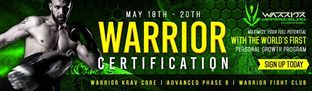 Warrior Certification May 18th - 20th 2018