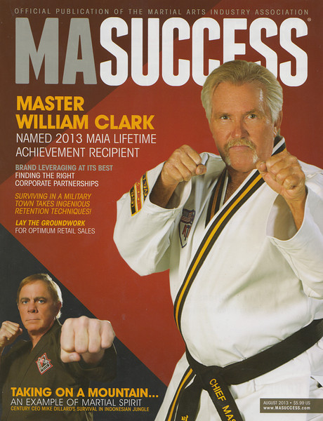 Master William Clark MA SUCCESS Magazine
